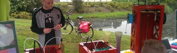 3D Printer & Onderwijs.nl grote hit op zomerparkdag