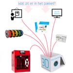 Educatiepakket 3D printen - Builder premium large